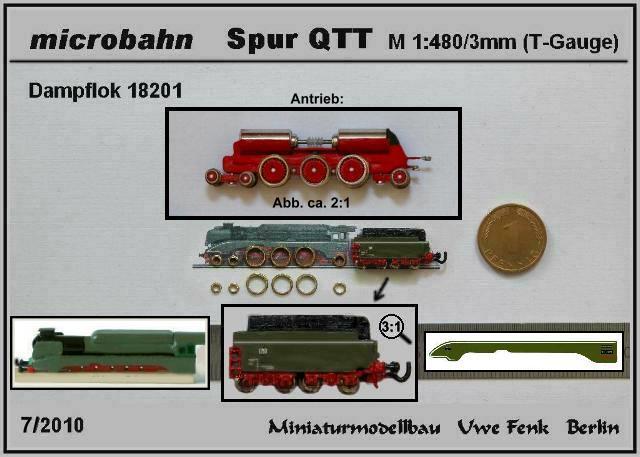 Najmanji vlakovi na svijetu: mjerilo T DL18
