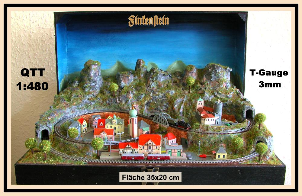 Najmanji vlakovi na svijetu: mjerilo T Finkenstein
