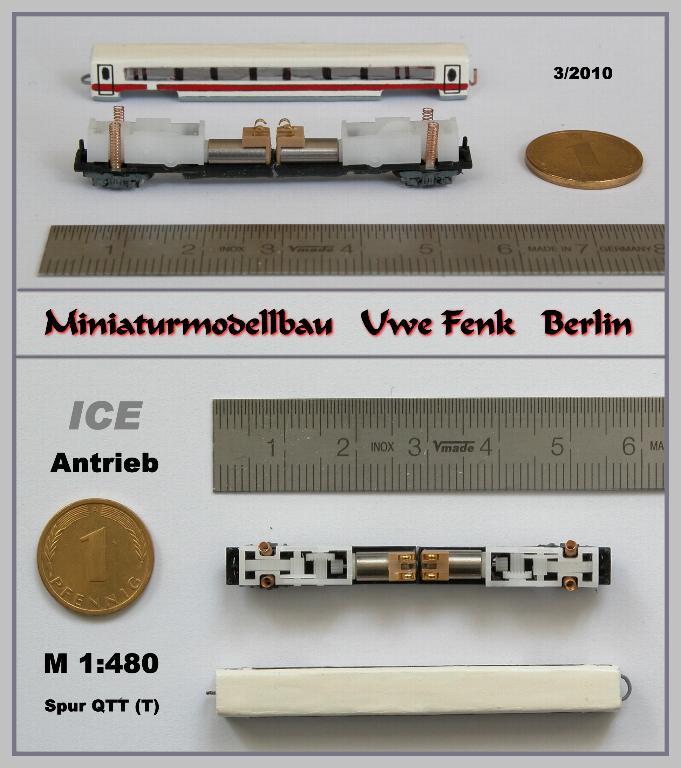 Najmanji vlakovi na svijetu: mjerilo T ICE-Antrieb-QTT-MBB-Uwe-Fenk-Berlin