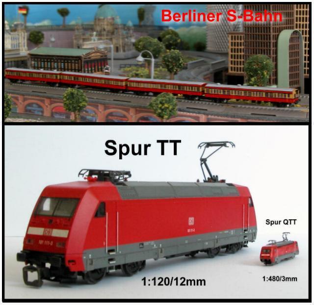 Najmanji vlakovi na svijetu: mjerilo T PlanungQTT